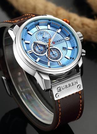 Мужские наручные часы Curren Оригинал гарантия 1 год!!!