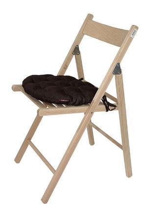 Подушка на стул круглая 36*36*5