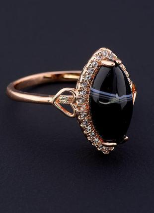 Кольцо 'pataya' агат (позолота 18к) 0597500