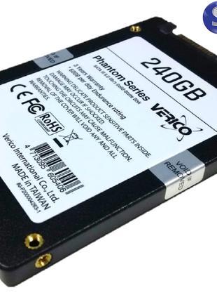 Накопитель SSD Verico Phantom 240GB SLC кэш для ноутбука Гарантия