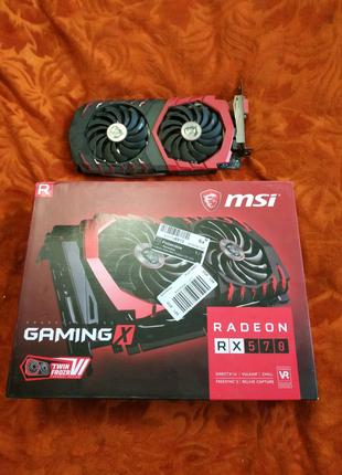 Видеокарта MSI Radeon RX 570 GAMING X 4GB
