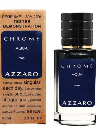 AZZARO Chrome Aqua 60 мл Teстер женский