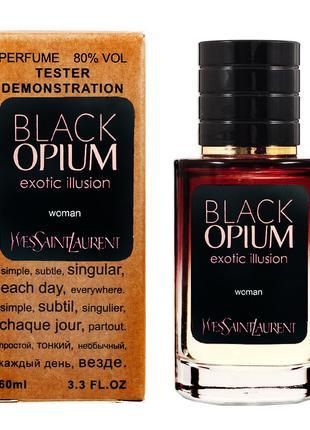 YVES SAINT LAURENT Black Opium Exotic Illusion 60 Тестер женский