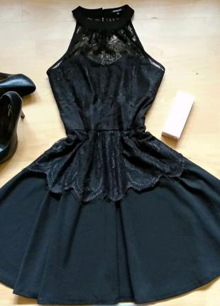 Красивое  вечернее платье Morgan с кружевом