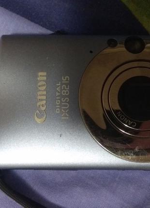Фотоаппарат Canon ixus 821s 8x zoom в идеальном. Можно на запч...
