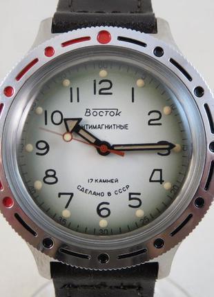 Часы ВОСТОК Амфибия. СССР. 200 м. Нержавеющая сталь. Отличное ...
