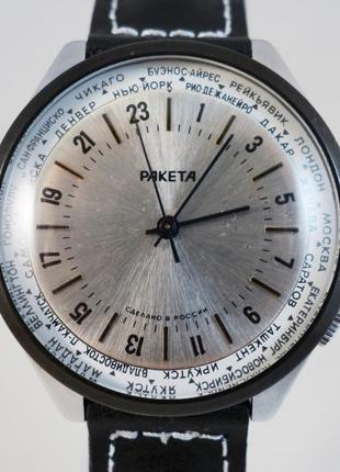 Часы Ракета 24 часа. Оригинал. Производство СССР. Достойное со...