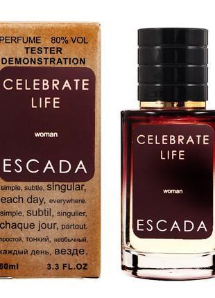 Тестер женский ESCADA Celebrate Life 60 мл