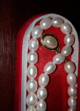 Жемчуг (жемчужное ожерелье, длинное) длина 65 см