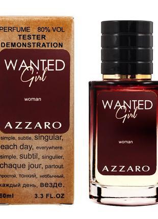 Тестер женский AZZARO Wanted Girl 60 мл