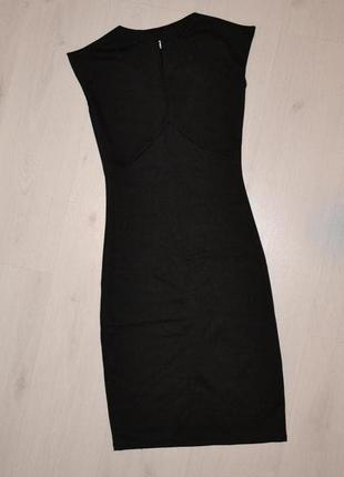Трикотажное платье размер s
