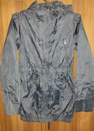 Детская подростковая куртка плащ дождевик ветровка на девочку ...