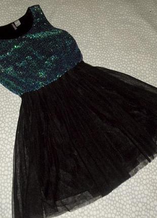 Красивое вечернее платье 10-12 лет