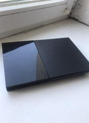Консоль SONY PlayStation 2. Чипованая : можно запускать игры с фл