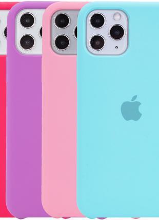 Силиконовый чехол для айфона Silicone case for Iphone