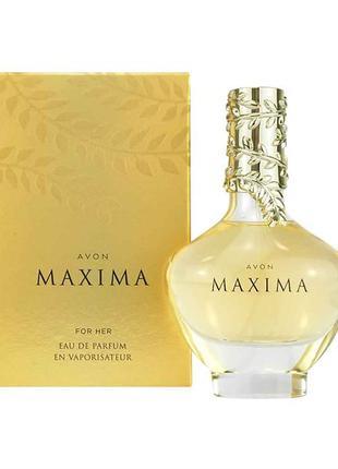 Парфюмированная вода maxima avon 50 мл