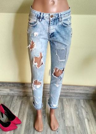 Курутые брендовые джинсы мом бойфренд ralph lauren
