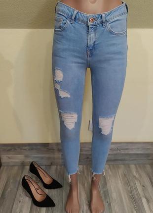 Стильные джинсы скинни new look