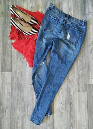 Стильные джинсы мом момы с высокой посадкой талией