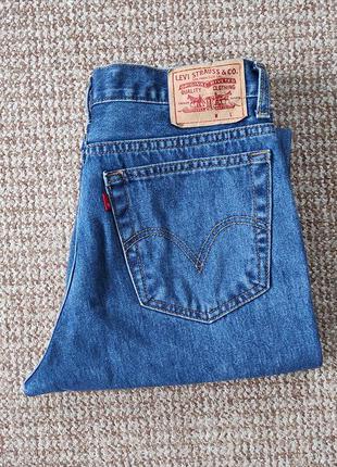 Levi's 516 джинсы slim straight оригинал (w33 l30)