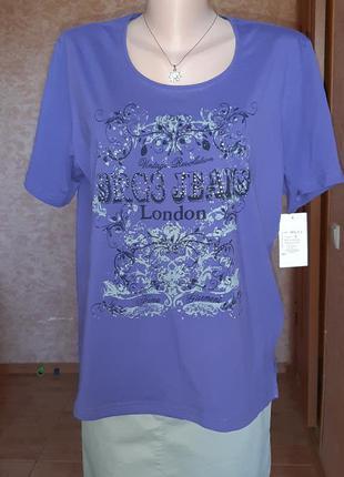 Симпатичная трикотажная футболка