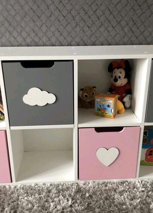 Стеллаж для игрушек, стеллаж детский, хранение игрушек