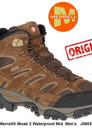 Ботинки Merrell® Moab 2 Waterproof Mid 48EU original из USA J0605