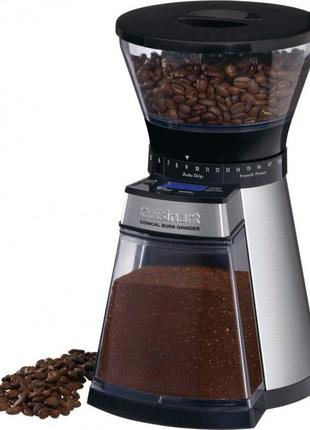 Кофемолка с жерновами и регулятором помола Cuisinart DBM18E