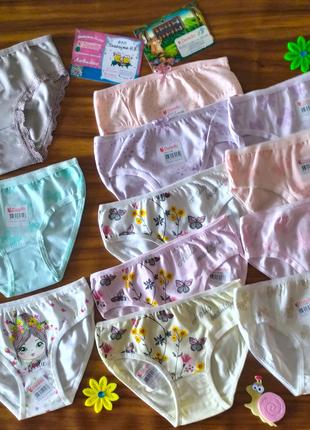 2/3 года трусы и майки, комплекты для девочек тм донелла donella