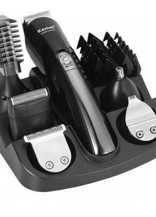 Машинка для стрижки волос Kemei KM 600 триммер беспроводная