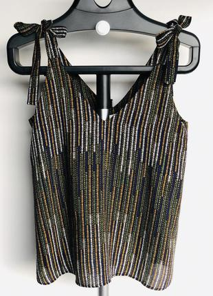Блуза из вискозы h&m 40/l/48