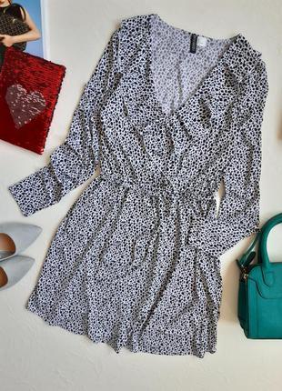 Милейшее платье с рюшами