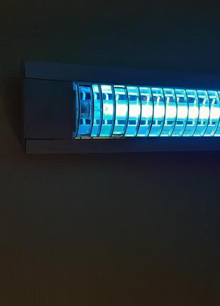 Бактерицидная БЕЗОЗОНОВАЯ кварцевая лампа 30Вт со светильником