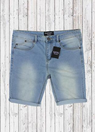 Стрейчевые джинсовые шорты