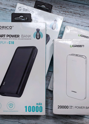 Power Bank Ugreen 20000mAh PB161 | Павербанк Orico 10000mAh