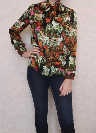 Блуза, рубашка, jessica m. nutzel, 100 шелк