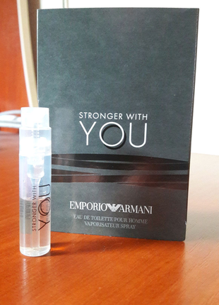 Giorgio Armani, Emporio Armani, Stronger with You