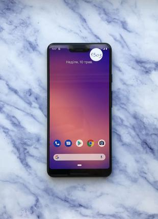 Google Pixel 3 XL Just Black 64 Gb Оригінал (#1303)