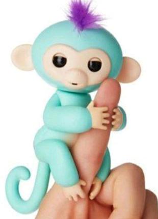 Интерактивная игрушка - обезьянка Fingerlings Monkey