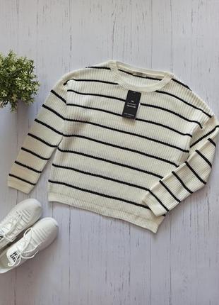 Новый молочный свитер