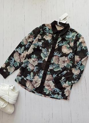 Блуза цветочная atmosphere