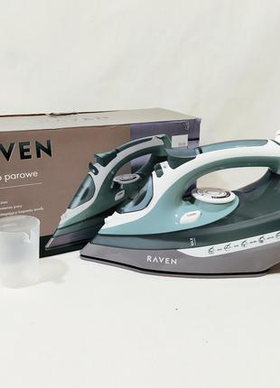 Утюг RAVEN EZ004 2800W высокое качество. Подошва - Керамика из ЕС