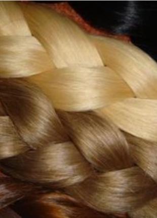 Остатки волос для наращивания натуральные не крашенные
