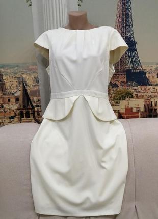 Шикарное платье с баской pretty woman, размер 46-48