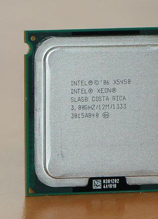Процессор Intel Xeon X5450 сокет 775, аналог процессора Q9650