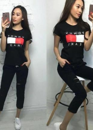 Костюм женский футболка и штаны