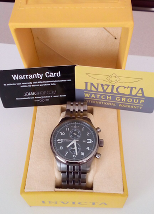 ОРИГИНАЛ!!! Мужские швейцарские кварцевые часы INVICTA