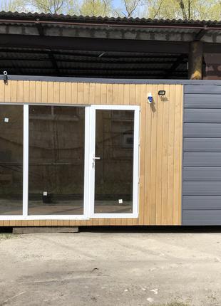 Модульный дачный домик 7*2,4м