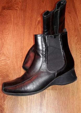 Женские демисезонные полусапожки, ботинки из натуральной кожи ...
