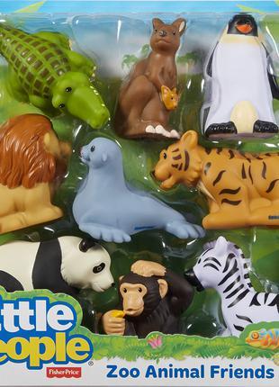 Набор Животные из зоопарка Fisher Price, оригинал из США – новый